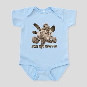 More Mud More Fun on an ATV Infant Bodysuit