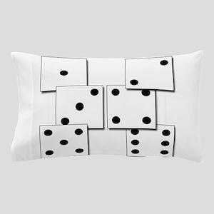 dice white box Pillow Case