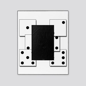 dice white box Picture Frame