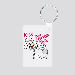 Kiss my cottontail! Keychains