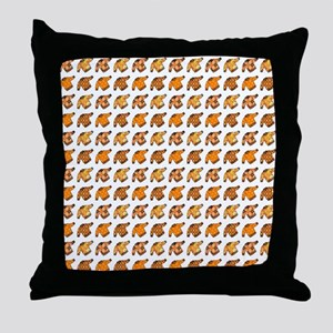 THE UGLIER THE... Throw Pillow