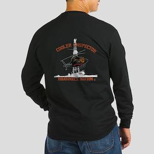 Oilfield Cooler Inspector Long Sleeve Dark T-Shirt