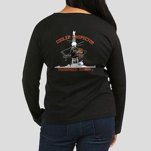 Oilfield Cooler I Women's Long Sleeve Dark T-Shirt