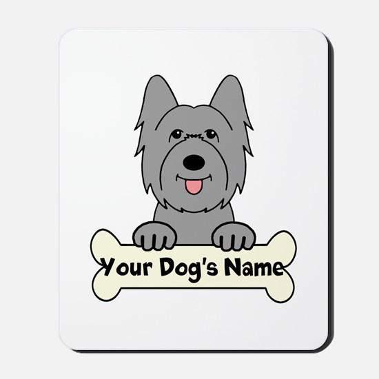 Personalized Briard Mousepad