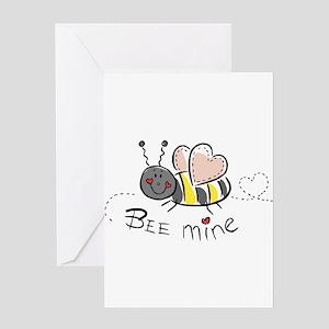Bee Mine Greeting Card