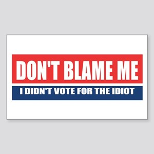 Dont Blame Me Sticker