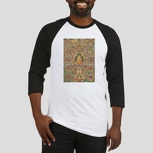 Buddha Buddhist Buddhism Art Yoga Baseball Jersey