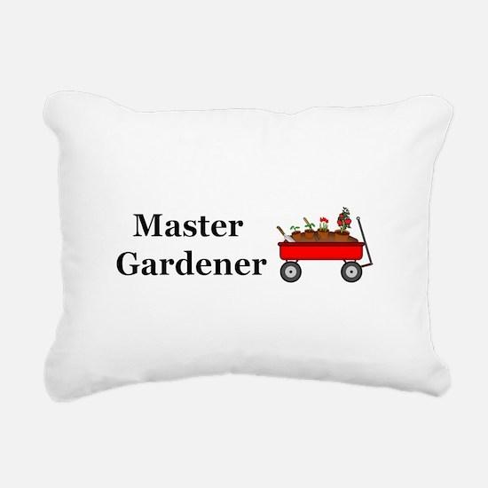 Master Gardener Rectangular Canvas Pillow