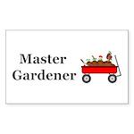 Master Gardener Sticker (Rectangle 10 pk)