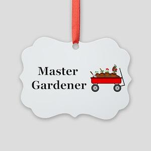Master Gardener Picture Ornament
