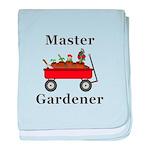 Master Gardener baby blanket