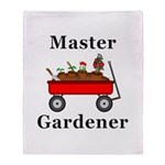 Master Gardener Throw Blanket