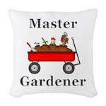 Master Gardener Woven Throw Pillow