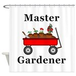 Master Gardener Shower Curtain