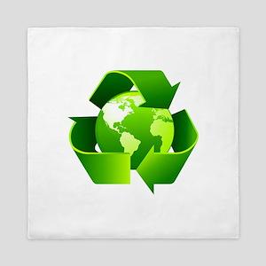 Recycle! Queen Duvet