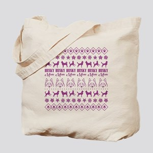 HUSKY MOM Tote Bag