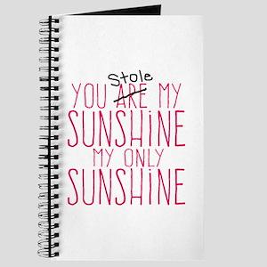 You Stole My Sunshine Journal