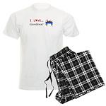 I Love Gardens Men's Light Pajamas