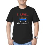 I Love Gardens Men's Fitted T-Shirt (dark)