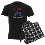 I Love Gardens Men's Dark Pajamas