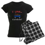 I Love Gardens Women's Dark Pajamas