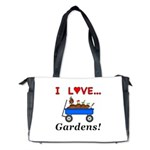 I Love Gardens Diaper Bag