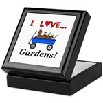 I Love Gardens Keepsake Box