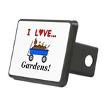 I Love Gardens Rectangular Hitch Cover