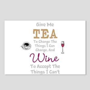 Tea and Wine Postcards (Package of 8)