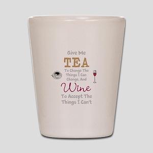 Tea and Wine Shot Glass