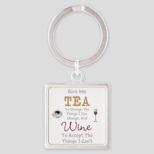 Tea and Wine Keychains