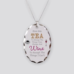 Tea and Wine Necklace