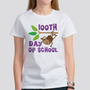 100th Day Of School (monkey) T-Shirt