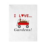I Love Gardens Twin Duvet
