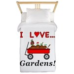 I Love Gardens Twin Duvet