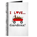 I Love Gardens Journal