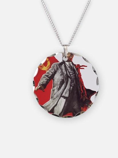 Lenin soviet union propagand Necklace