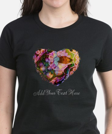 Wild Heart with Your Text T-Shirt
