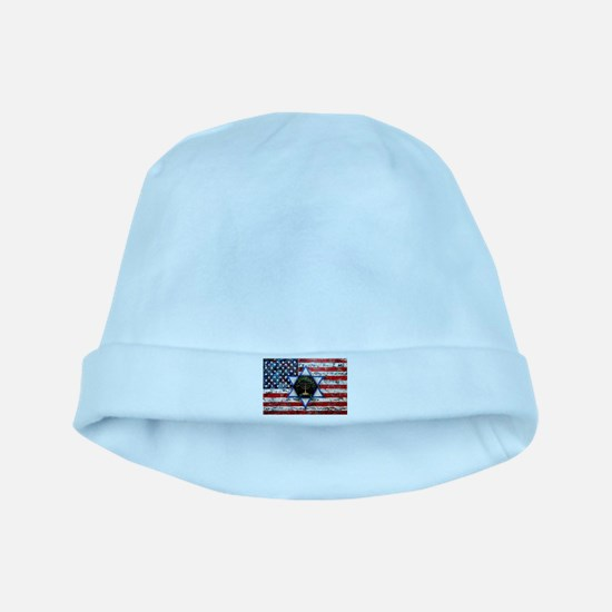 United With Israel baby hat