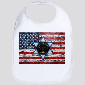 United With Israel Baby Bib