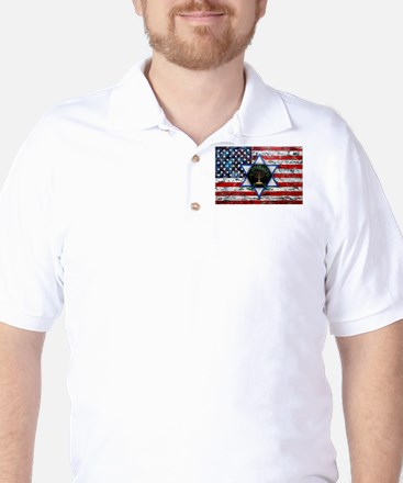 United With Israel Golf Shirt
