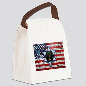 United With Israel Canvas Lunch Bag