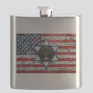 United With Israel Flask