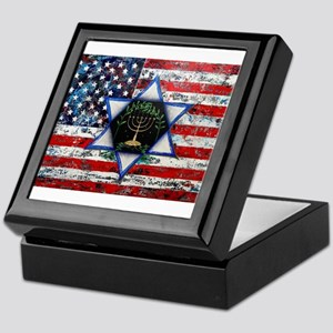 United With Israel Keepsake Box