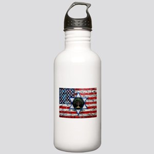 United With Israel Stainless Water Bottle 1.0L