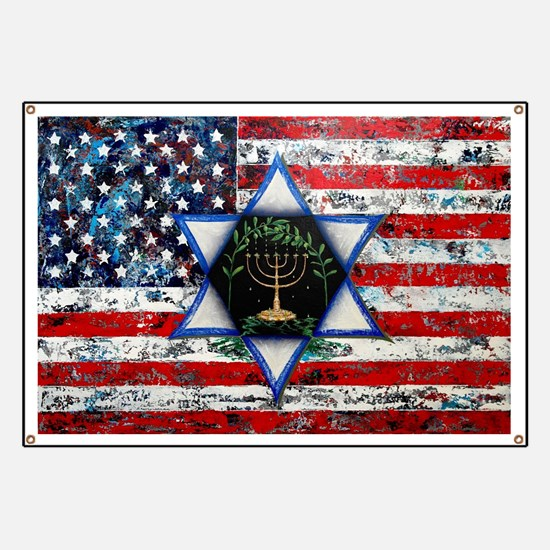 United With Israel Banner