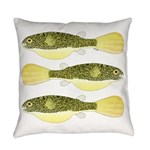 Mbu Giant Freshwater Puffer fish Everyday Pillow