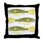 Mbu Giant Freshwater Puffer fish Throw Pillow