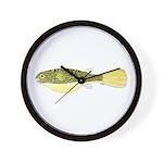 Mbu Giant Freshwater Puffer fish Wall Clock