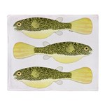 Mbu Giant Freshwater Puffer fish Throw Blanket